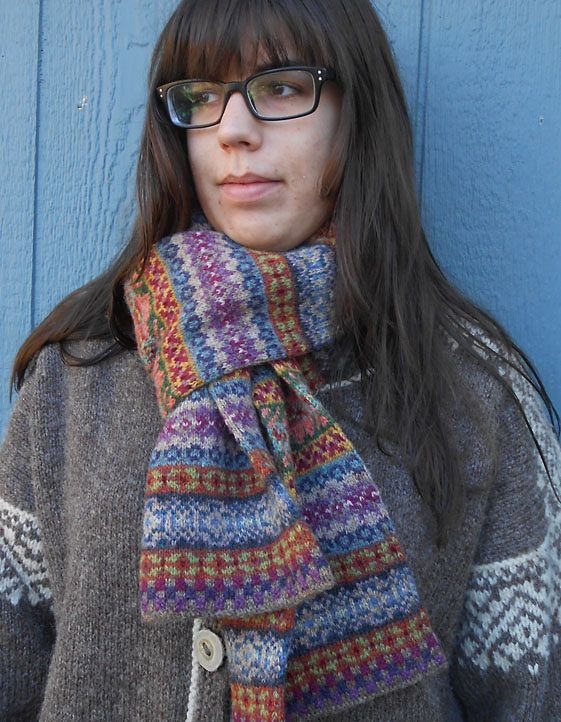 Walking Tour Scarf - Janine Bajus